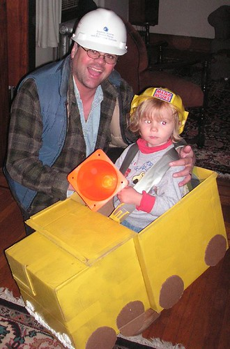 Mr. Three and Bob the Builder, Halloween 2005