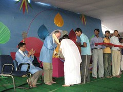 Garlanding ceremony