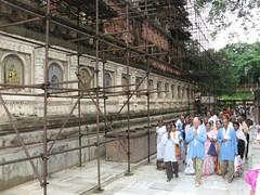 Mahabodhi Temple circumambulation 2