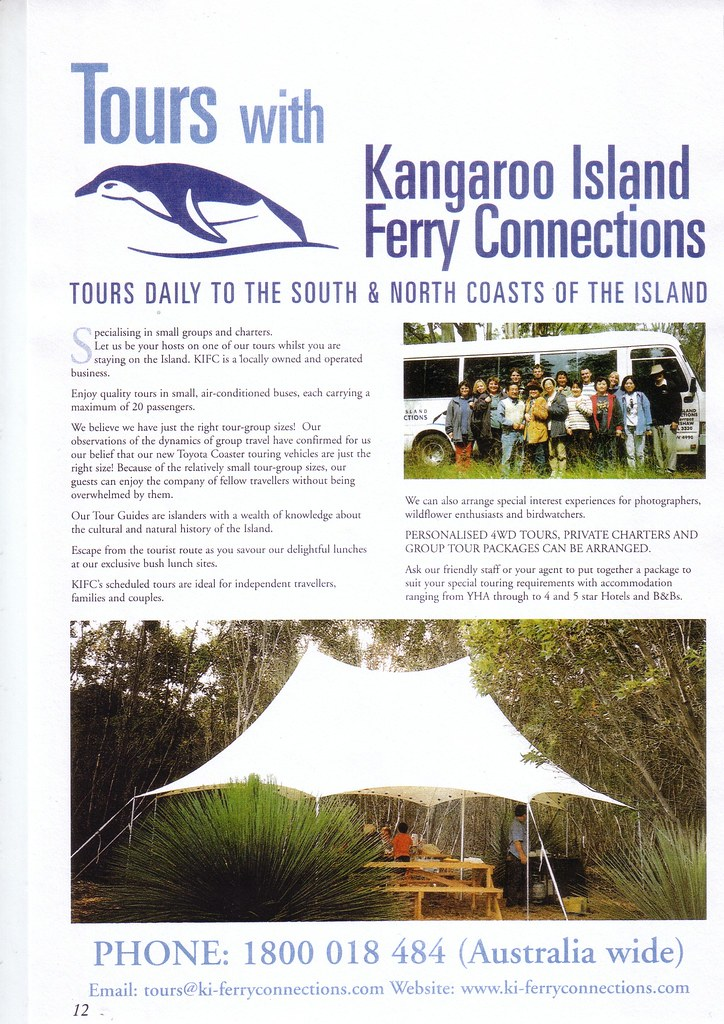 Kangaroo Island Tours From Adelaide Yha