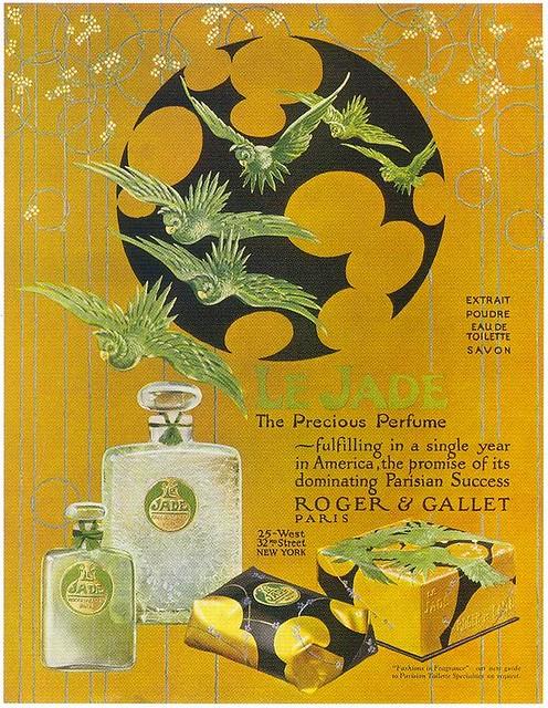 Le Jade Perfume ad, 1924