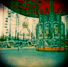 funfair_delirium26 (navelless) Tags: 120 film wheel holga xpro asia crossprocess empty toycamera carousel ferris plastic malaysia medium format southeast kl funfair bigcalm deserted holgagraphy navelless