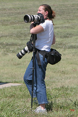 Star Telegram Photojournalist (gyroscopics) Tags: star photographer fort 2006 airshow worth journalist telegram alliance photojournalist canon7020028is