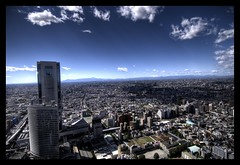 View from Park Hyatt (wili_hybrid) Tags: autumn fall japan buildings landscape geotagged outside outdoors tokyo photo yahoo high interesting october shinjuku flickr fuji exterior dynamic photos picture pic 2006 explore wikipedia parkhyatt imaging popular mapping range geotag tone hdr hdri photomatix flickrexplore tonemapped tonemapping year2006 interestingness37 i500 highdynamicrangeimaging