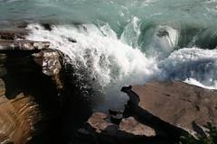 Athabasca Falls (Two Travellers) Tags: autumn favorite canada green fall water waterfall rocks falls waterfalls alberta favourite equinox jaspernationalpark athabasca favorited favourited icefieldsparkway highway93 fallequinox fall2006 autumn2006 photographerglennwatkins septemberequinox