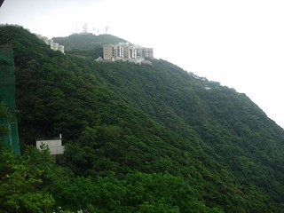 The green hills of hong kong