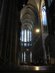 High ceilings (Scoobyfoo) Tags: 2004 church germany columns cologne aspect