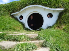 New Zealand-North Island (Gandalf.) Tags: newzealand vacation max green film brian moviesets lordoftherings shire hobbit tolkien hobbiton redcarpettours