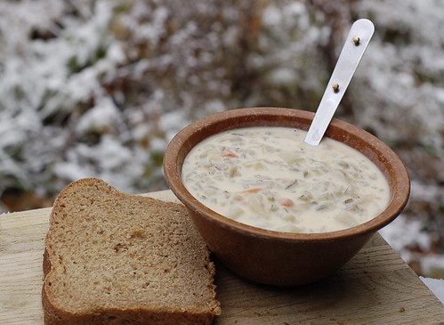 Wild Rice Soup (Recipe)