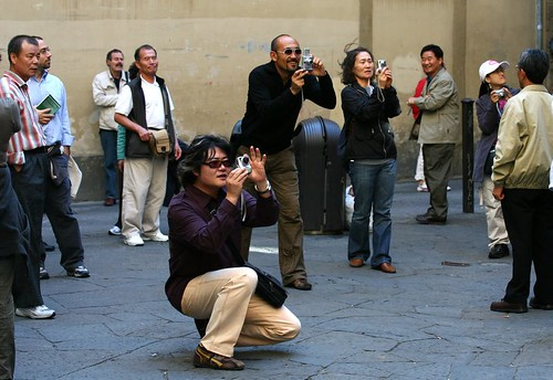 Japanese Tourists in Florence