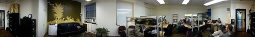 Panorama of CoworkingNYC @ EastMedia