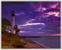 Cape Florida Lighthouse at Dawn (Michael Pancier Photography) Tags: lighthouses florida miami beaches keybiscayne fineartphotography naturephotography naturephotographer floridaphotographer capefloridastatepark michaelpancier michaelpancierphotography wwwmichaelpancierphotographycom