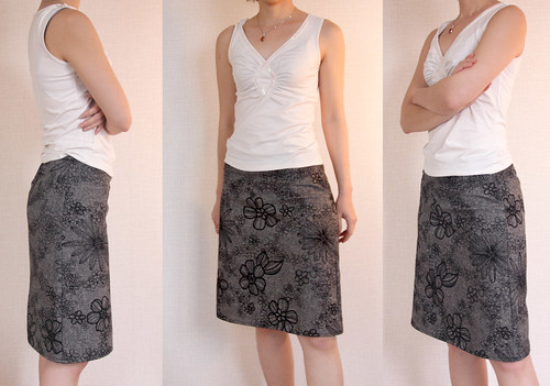 Black Clean Cut Skirt-02_