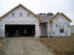 image of a new contruction home