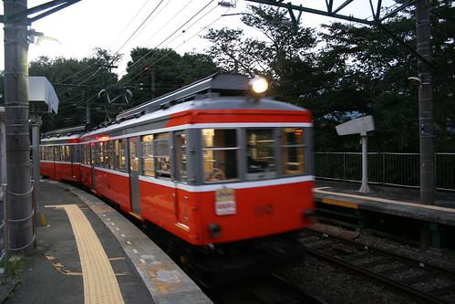 箱根登山電車彫刻の森駅