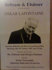 Lafontaine, Seltsam, Elsässer