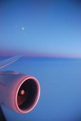 THE FLIGHT HOME (D.Fletcher) Tags: china airplane nikon beijing engine brightlight nunavut northpole d80 dbfletcher colourlicious thegalleryoffinephotography