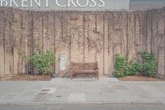 Brent Cross 1 (Andy Feltham...) Tags: pentaxk1 zeissdistagont235 shopping centre bench newtopographics prettymundane london