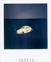 pola.vw.bug 1962 Lesney (AristotelisM) Tags: polaroid impossible impossibleproject polaroidoriginals patisia filmart film analog sx70 landcamera polaroidcamera matchbox lesney 1962