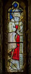 Clayworth, St Peter's church window (Jules & Jenny) Tags: clayworth stpeterschurch stainedglasswindow st nicholas
