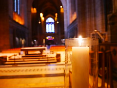 Candle for goodness (dr.hamitdemir) Tags: liverpool cathedral candle macro low united kingdom light respect religion