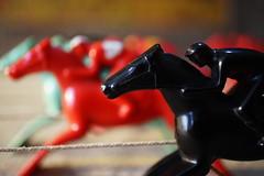 RACEPLAY (Bl.Mtns.Grandma) Tags: raceplay bakelite plastic mlplastics macromondays toy windup weeklythemes gamesorgamepieces cof031mari cof031meu cof031mvfs cof031cg