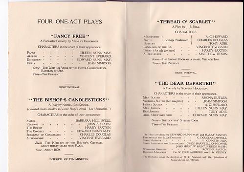 1933: Jan Programme 2