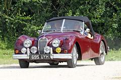 Jaguar XK140 (Roger Wasley) Tags: jaguar xk140 classic car toddington gloucestershire sports