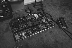 Motherboard (Tednoir) Tags: music guitar electricguitar monochrome mono blues carson brock fuzzface pedals stratocaster amplifiers austin texas ampeg fender art blackwhite blackandwhite bnw bw