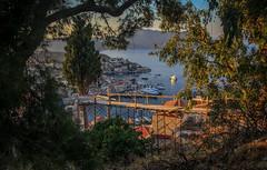 Symi window (Dan Österberg) Tags: symi greece travel vacation hot south warm leisure cityscape landscape seascape urban tourism