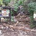 Damage to Trailhead at Gregory Canyon