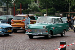 1961 Opel Olympia Rekord P2 (Davydutchy) Tags: vroem joure dejouwer fryslân friesland frisia frise nederland netherlands niederlande paysbas holland classic oldtimer klassiker klassiek klassisch veterán car vehicle auto automobiel automobile voiture rit tocht rondrit ausfahrt ride opel olympia rekord p2 deutsch deutschland german germany
