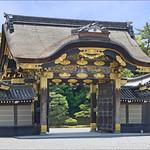 La porte principale du palais Ninomaru (Château de Nijo, Kyoto) thumbnail