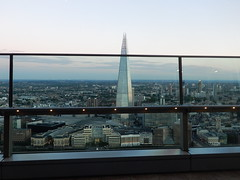 View of the Shard etc. from the Sky Garden (John Steedman) Tags: london uk unitedkingdom england イングランド 英格兰 greatbritain grandebretagne grossbritannien 大不列顛島 グレートブリテン島 英國 イギリス ロンドン 伦敦 stpaulscathedral bttower skygarden