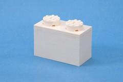 The White Brick (ted @ndes) Tags: lego brickworld white brick 1x2