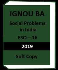 IGNOU BA Social Problems In India ESO 16 - Download Version (jiteshoureducation9) Tags: ignou ba social problems in india eso 16 download version