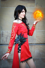 RWBY Cinder Fall cosplayer at Glasgow Comic Con, June 2018 (Gordon.A) Tags: glasgow royalconcerthall glasgowcomiccon comiccon comicbookconvention con convention june 2018 creative costume culture lifestyle style woman people peoplewatching peoplemakeglasgow rwby cinders cinder cinderfall cosplay cosplayer cosplayportrait cosplayphotography summer festival event eventphotography amateur pose posed portrait portraitphotography street streetportrait streetphotography colourportrait colourstreetportrait naturallight naturallightportrait digital canon eos 750d canoneos750d