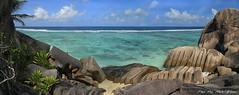 Paradise (Rita Eberle-Wessner) Tags: seychelles ladigue island insel seychellen strand küste ansepierrot indianocean indischerozean coast felsen rocks rockformations wasser water wellen meer ocean paradise ozean