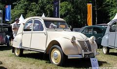 Citroën 2CV AZL 1955 (XBXG) Tags: sk1310 citroën 2cv azl 1955 cabriolet cabrio convertible roadster tourer 2pk eend geit deuche deudeuche 2cv6 concours délégance 2018 paleis het loo apeldoorn nederland holland netherlands paysbas vintage old classic french car auto automobile voiture ancienne française vehicle outdoor