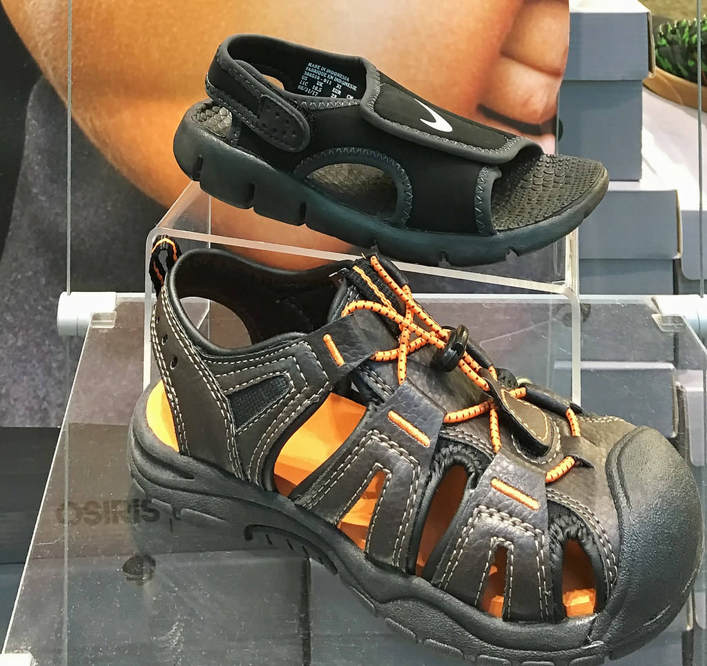 7c4381a67b74 Children s shoes (SteveMather) Tags  cleveland ohio mall window display  child children shoes iphone