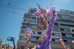 Hala on Stilts (Photo Oleo) Tags: festival sambaonstilts latin sambaparade candid event street salsaonstclair costume dance feathers cultural stiltwalker halaonstilts performer