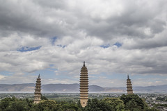 3 Pagodas of Dali (Ready.Aim.Fire) Tags: china chinese dali yunnan canon 6d asia asian eastern southern may mai 2018 pagoda pagode heaven unesco world cultural heritage