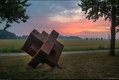 Kunstzinnige zonsopkomst