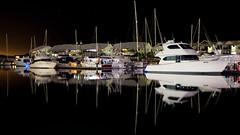 Cleveland_Night_2 (Peppergroyne) Tags: cleveland afterdark reflections wetreflections water nightphotography brisbane queensland australia longexposure