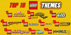 Top 10 Lego Themes (Captain Luigi) Tags: top 10 lego themes marvel dc star wars indiana jones