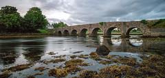Burrishoole Bridge (mickreynolds) Tags: july2018 nx500 burrishoole bridge newport wildatlanticway comayo ireland river samyang 12mm nd filter