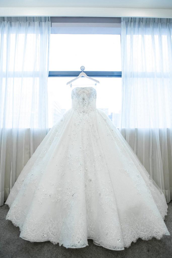0007婚禮紀錄-婚攝-內湖和璞飯店-白紗