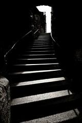 The ancient stairway (Tobi_2008) Tags: treppe stairway schwarzweiss blackandwhite marburg hessen deutschland germany allemagne germania