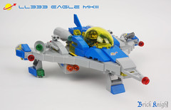 Eagle MkIII 1 (Brick Knight) Tags: lego moc neoclassicspace space classic