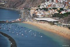 Playa De Las Teresitas, Санта-Круз, Тенеріфе, Канарські острови  InterNetri  777